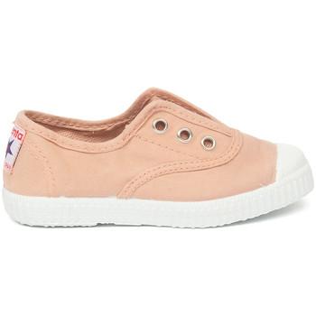 Buty Dziecko Tenis Cienta Chaussures en toiles bébé  Tintado rose clair