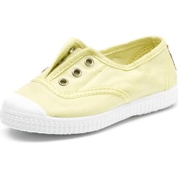 Buty Dziecko Tenis Cienta Chaussures en toiles bébé  Tintado jaune pastel