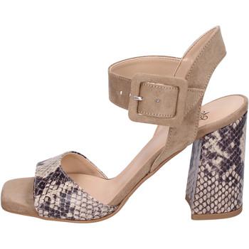 Buty Damskie Sandały Moga' BH75 Beżowy