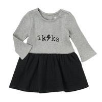 tekstylia Dziewczynka Sukienki krótkie Ikks CARAMEL Wielokolorowy