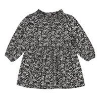 tekstylia Dziewczynka Sukienki krótkie Ikks CAROTTE Marine