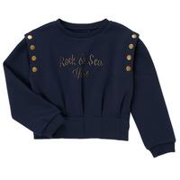 tekstylia Dziewczynka Bluzy Ikks GRENAT Marine