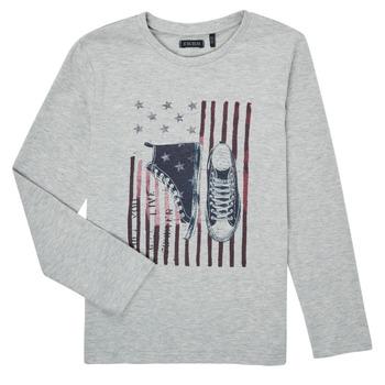 tekstylia Chłopiec T-shirty z długim rękawem Ikks SAPHIR Szary