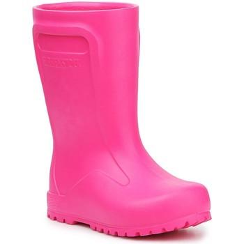 Buty Dziecko Kalosze Birkenstock Kalosze  Derry Neon Pink 1006288 różowy