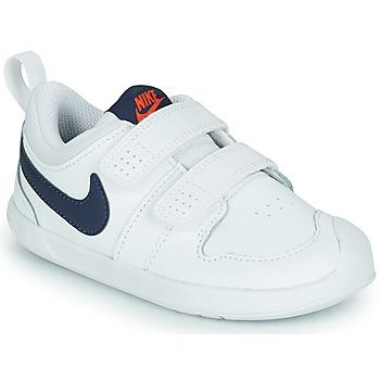 Buty Dziecko Trampki niskie Nike NIKE PICO 5 (TDV) Biały / Niebieski