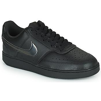 Buty Damskie Trampki niskie Nike WMNS NIKE COURT VISION LOW Czarny