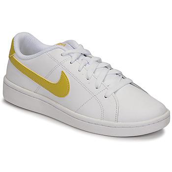 Buty Damskie Trampki niskie Nike WMNS NIKE COURT ROYALE 2 Biały / Złoty