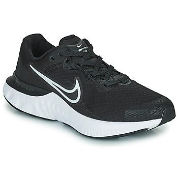 Buty Dziecko Bieganie / trail Nike NIKE RENEW RUN 2 (GS) Czarny / Biały