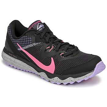 Buty Damskie Bieganie / trail Nike WMNS NIKE JUNIPER TRAIL Czarny / Różowy