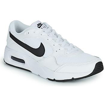 Buty Dziecko Trampki niskie Nike NIKE AIR MAX SC (GS) Biały / Czarny