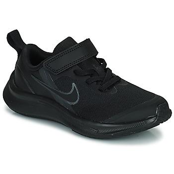 Buty Dziecko Bieganie / trail Nike NIKE STAR RUNNER 3 (PSV) Czarny