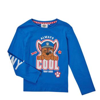 tekstylia Chłopiec T-shirty z długim rękawem TEAM HEROES  TEE PAW PATROL Niebieski