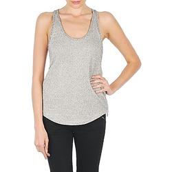 tekstylia Damskie Topy na ramiączkach / T-shirty bez rękawów Stella Forest YDE019 ECRU
