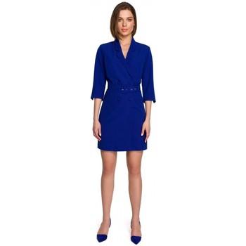 tekstylia Damskie Sukienki krótkie Style S255 Spodnie z wywijanymi nogawkami - czarne