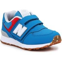 Buty Dziecko Trampki niskie New Balance Buty lifestylowe  PV574BWV niebieski, czerwony, biały