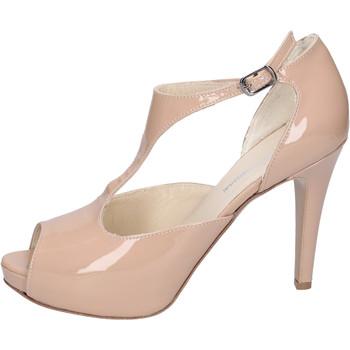 Buty Damskie Sandały Manifattura National BH121 Beżowy