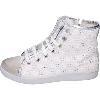 Buty Dziewczynka Trampki wysokie Happiness BH133 Biały