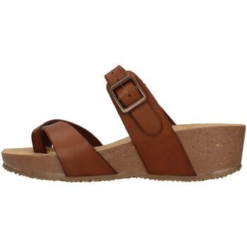 Buty Damskie Sandały Bionatura 28A729 Brązowy