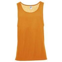 tekstylia Męskie Topy na ramiączkach / T-shirty bez rękawów Sols Jamaica camiseta sin mangas Naranja