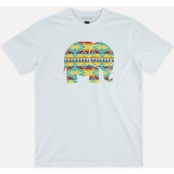 tekstylia Męskie T-shirty z krótkim rękawem Trendsplant NAVAJO 029940MNAV Biały