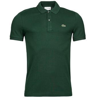 tekstylia Męskie Koszulki polo z krótkim rękawem Lacoste POLO SLIM FIT PH4012 Zielony