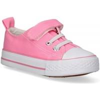 Buty Dziewczynka Trampki niskie Luna Collection 57724 różowy