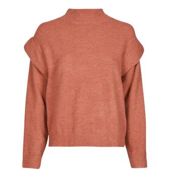 tekstylia Damskie Swetry Betty London PARIVA Różowy