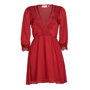 tekstylia Damskie Sukienki krótkie Moony Mood ABIDOSE Czerwony