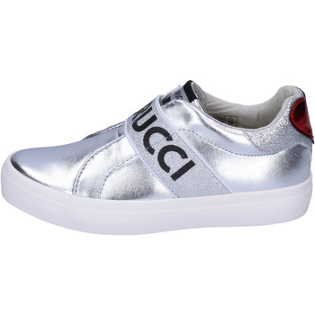 Buty Dziewczynka Tenisówki Fiorucci Sneakersy BH178 Srebrny