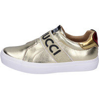 Buty Dziewczynka Tenisówki Fiorucci Sneakersy BH179 Złoty
