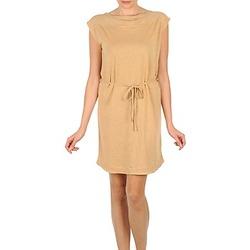 tekstylia Damskie Sukienki krótkie Majestic CAMELIA Beżowy