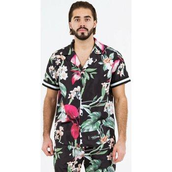 tekstylia Męskie Koszule z krótkim rękawem Sixth June Chemise  tropical noir