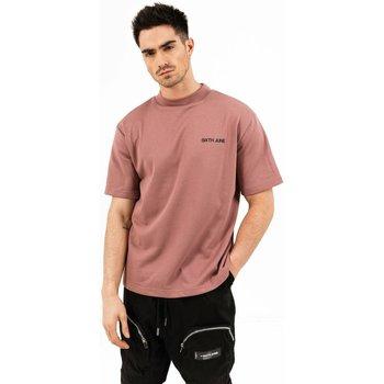 tekstylia Męskie T-shirty z krótkim rękawem Sixth June T-shirt  essential rose