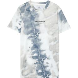 tekstylia Męskie T-shirty z krótkim rękawem Sixth June T-shirt  tie dye beige