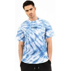 tekstylia Męskie T-shirty z krótkim rękawem Sixth June T-shirt  tie dye bleu