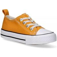 Buty Dziewczynka Trampki Luna Collection 57727 żółty