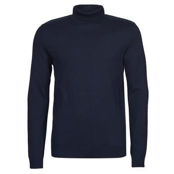 tekstylia Męskie Swetry Selected SLHBERG Marine