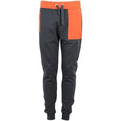 tekstylia Męskie Spodnie dresowe Bikkembergs  Pomarańczowy