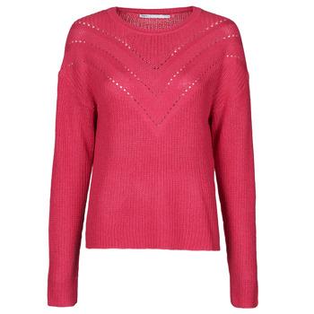 tekstylia Damskie Swetry Only ONLTRIXIE Różowy