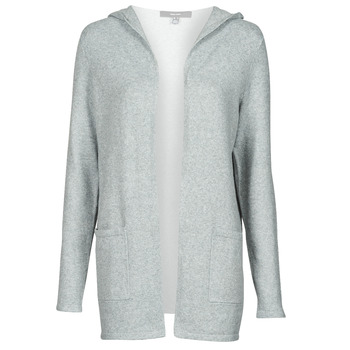 tekstylia Damskie Swetry rozpinane / Kardigany Vero Moda VMDOFFY Szary