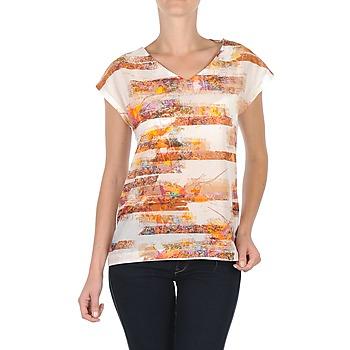 tekstylia Damskie T-shirty z krótkim rękawem TBS JINTEE Biały