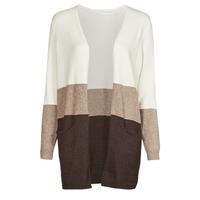 tekstylia Damskie Swetry Only ONLQUEEN Ecru / Brązowy