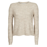 tekstylia Damskie Swetry Only ONLLOLLI Taupe