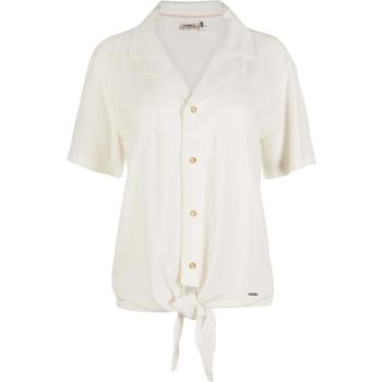 tekstylia Damskie Koszule O'neill Cali Woven Biały