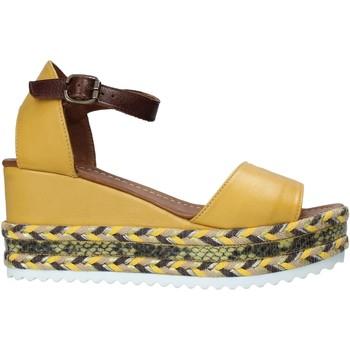 Buty Damskie Sandały Bueno Shoes 21WQ6000 Żółty