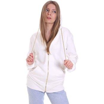 tekstylia Damskie Bluzy Cristinaeffe 4963 Biały