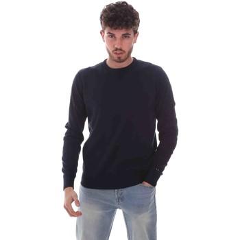 tekstylia Męskie Swetry Key Up 2M50U 0001 Niebieski