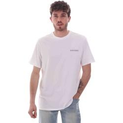 tekstylia Męskie T-shirty z krótkim rękawem Dockers 27406-0115 Biały
