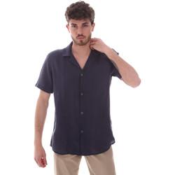 tekstylia Męskie Koszule z krótkim rękawem Sseinse CE588SS Niebieski