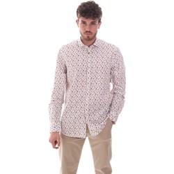 tekstylia Męskie Koszule z długim rękawem Sseinse CE620SS Biały